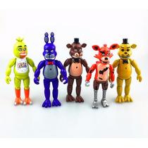 Five Nights At Freddy's Foxy Bonnie Kit 5 Brinde Pulseira