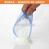 Bórax Borato De Sódio Importado - Pacote 1kg