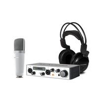 Sistema De Gravação Vocal Studio Pro Ii M-audio Promoção