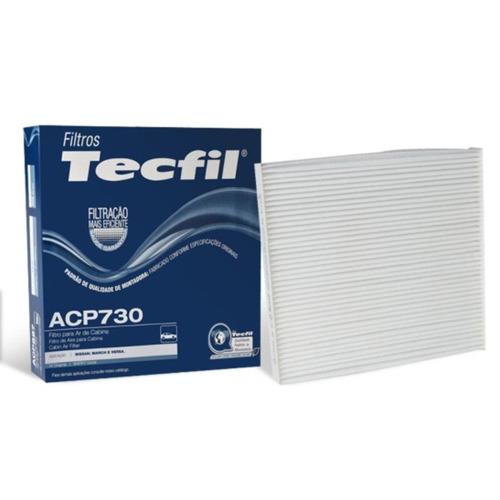 Filtro Ar Condicionado March 1.0 2011 / ... - Tecfil Acp730