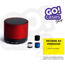Mini Caixa De Som Bluetooth Speaker Sd