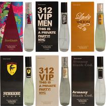 Promoção Kit Com 05 Perfumes 55ml - C/ Anvisa E Nota Fiscal