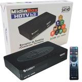 Receptor + Conversor Midiabox B3 Hd Digital Tv Century