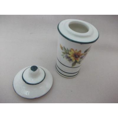 B antigo potiche miniatura em em porcelana italiana r for Porcelana italiana