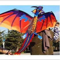 Pipa De Dragão Gigante 1,20m