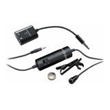 Microfone Audio-technica Atr3350is Condensador Omnidirecional Preto