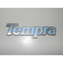 Emblema Traseiro Em Metal Dourado Original Fiat Tempra