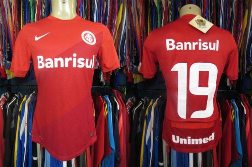 Internacional 2013 Camisa Titular Tamanho M Número 19 670de037f08a7