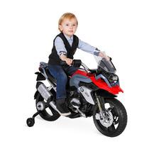 Moto Elétrica Infantil Bmw Gs Vermelha 12v Bandeirante