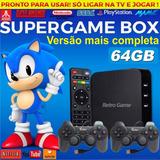 Super Game Box - Video Game Retro Multijogos Jogos Antigos!