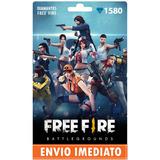 Free Fire 1.580 Diamantes +10% Bônus - Recarga P/ Conta