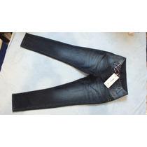 Calça Jeans Com Cinto Feminina Empório Cod.003