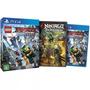 Box Jogo + Filme Lego Ninjago - O Filme: Ed. Limitada Ps4