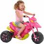 Moto Elétrica Infantil Xt3 - V6 Fashion Rosa