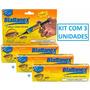 Veneno Baratas - Gel Barata - Blattanex - Bayer - Kit Com 3