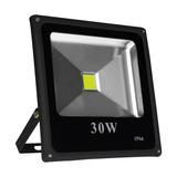 Refletor Led Holofote 30w Resistente Água Branco Frio Briwax
