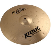 Prato Thin Crash 18 Ataque Fusion Krest Cymbals Bronze B8