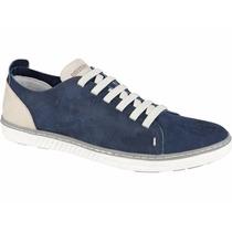 Tênis Sapatenis Casual Combina Jeans Passeio Lazer Trabalho