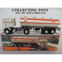 Caminhão Tanque Esso Da Elka - Anos 80 - C/ Caixa Original