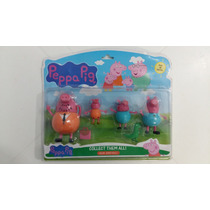 Familia Peppa Pig Bonecos Cllect Them All
