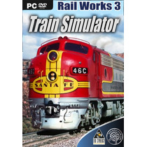 Rail Works 3 Train Simulator Simulador De Trem Jogo Pc