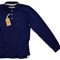 Camisa Camiseta Polo Manga Longa Original Sheepfyeld