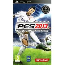 Jogo Pro Evolution Soccer 2013 Psp Novo Lacrado