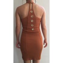 Vestido Limone - Bronze