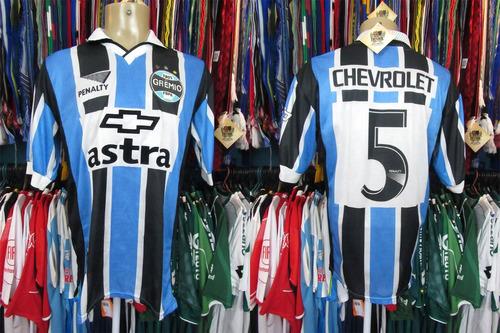 71096f24a7 Grêmio 1999 Camisa Titular Tamanho G Número 5