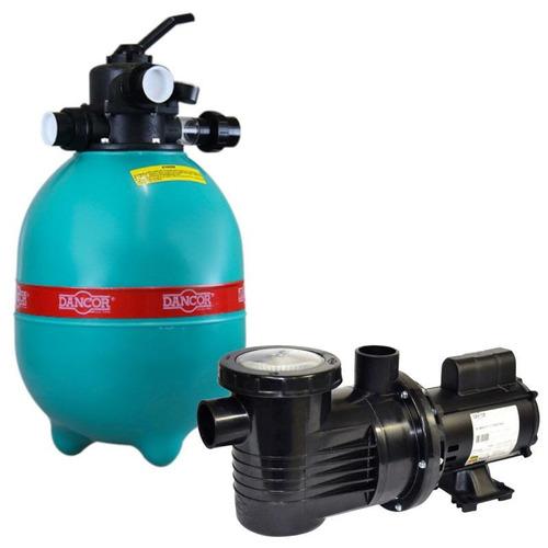 Filtro P  Piscina Dfr 15-7 C  Bomba 1 2 Cv Monofásica Dancor 478c81ab100