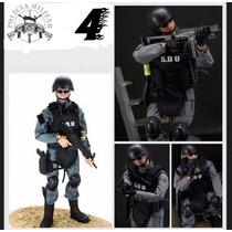 Boneco Soldado Sdu Militar 30cm - Swat E Outros