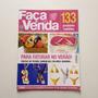 Revista Faça E Venda Frutas De Tecido Sandálias Colares N°83