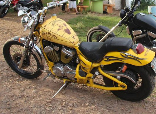 HONDA VT SHADOW 600 PERSONALIZADA CHOPPER CUSTOM