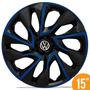 Jogo Calota Esportiva 15 Ds4 Black Blue Fox Polo Golf 5 Furo