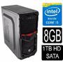 Computador Cpu  Intel Core I5 3.2 Ghz+ 8gb+ 1tb