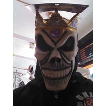 Mascara Rei Caveira Dias Das Bruxas Luxo