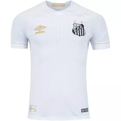 467c0c9605 Camisa Santos 2018 2019 Umbro Branca Pronta Entrega Peixe - R  120 ...
