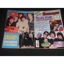 Músicas Cifras Especial Rolling Stones - 2 Revistas