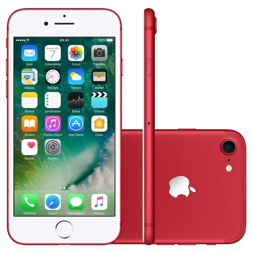 Oferta Apple Iphone 7 128gb Tela 4.7 ´ ´ Ios 10 12x Sem Juros
