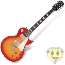 Guitarra Epiphone Les Paul Standard Plain Top - Kadu Som