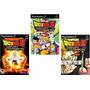 Patches (kit De 3) Dragon Ball Z Tenkaichi 1, 2, 3 Play 2