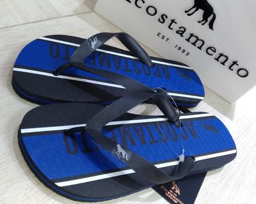 f0fe01f7d Chinelo Acostamento14252 Preto/azul -37/38,39/40,41/42. R$ 115