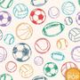 Papel De Parede Esporte Bola Futebol Adesivo Rolo 12m