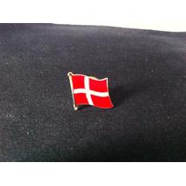 Pin Da Bandeira Da Dinamarca