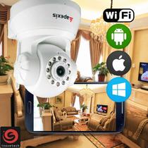 Câmera Ip Wireless Apexis Apm J011-ws - Branca