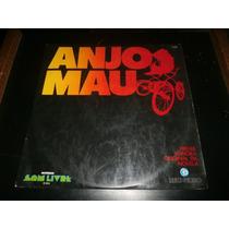 Lp Trilha Sonora Da Novela Anjo Mau, Disco Vinil, Ano 1976