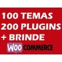 Woocommerce 100 Temas   200 Plugins   Brinde