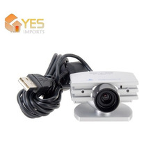 Eye Toy - Camera De Movimento Para Ps2 + Patch Com 3 Jogos