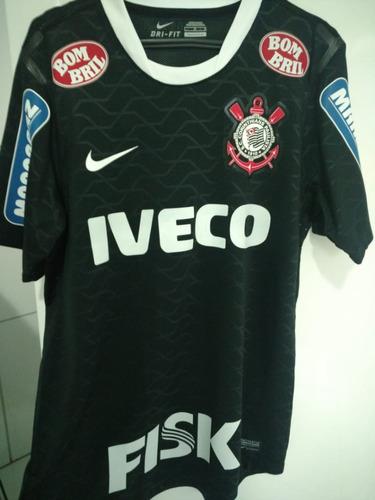 a4589af42c987 Camisa Corinthians Jogador Jogo Final Libertadores 2012. R  1000