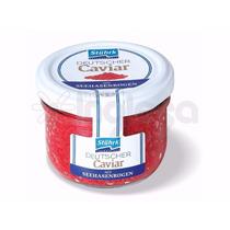 Ovas De Salmão Caviar Negro Ou Verm Stuhrk Alemão 100 Gramas